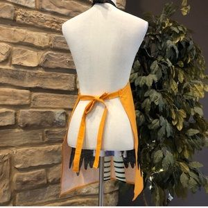 Holiday - Halloween Witch Apron Handmade Witch Apron
